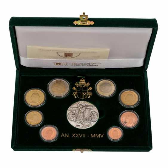 Vatican - KMS in 2005 3,88€, PP, - photo 1