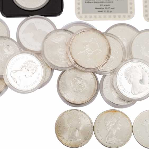 Canada - approx. 23 silver Dollars, spending the majority of  - photo 2