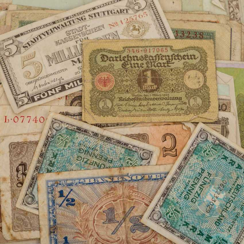Mixed Lot with Notgeld, and the historic small coins, - photo 3