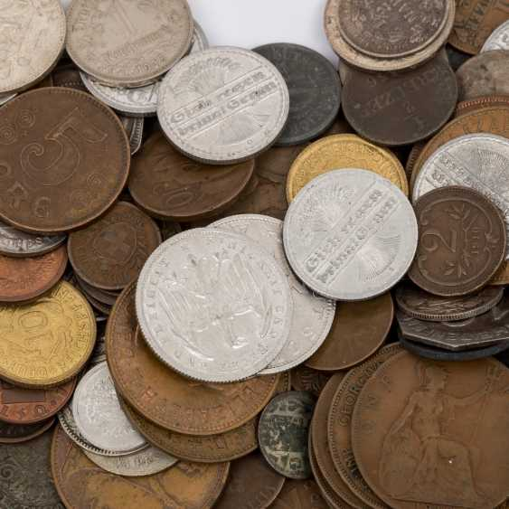 Mixed Lot with Notgeld, and the historic small coins, - photo 6