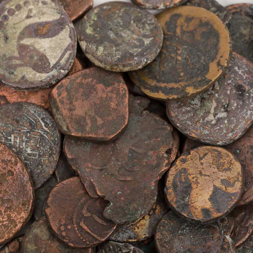 A mixed group of coins from all over the world - photo 3