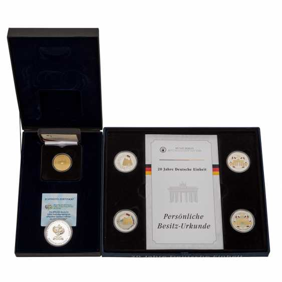 Federal Republic of Germany in Gold and SILVER - photo 1