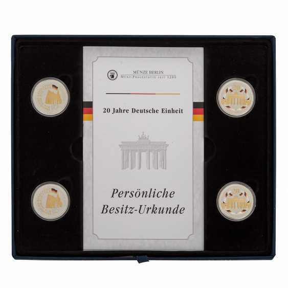 Federal Republic of Germany in Gold and SILVER - photo 2