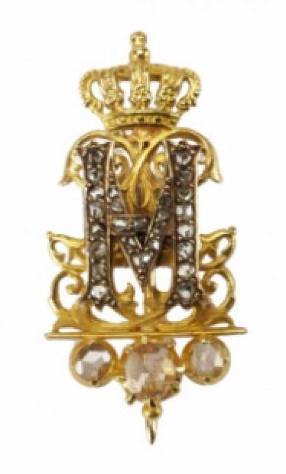 Belgium: the diamond cipher of Queen Marie Henriette of Austria, Queen of the Belgians