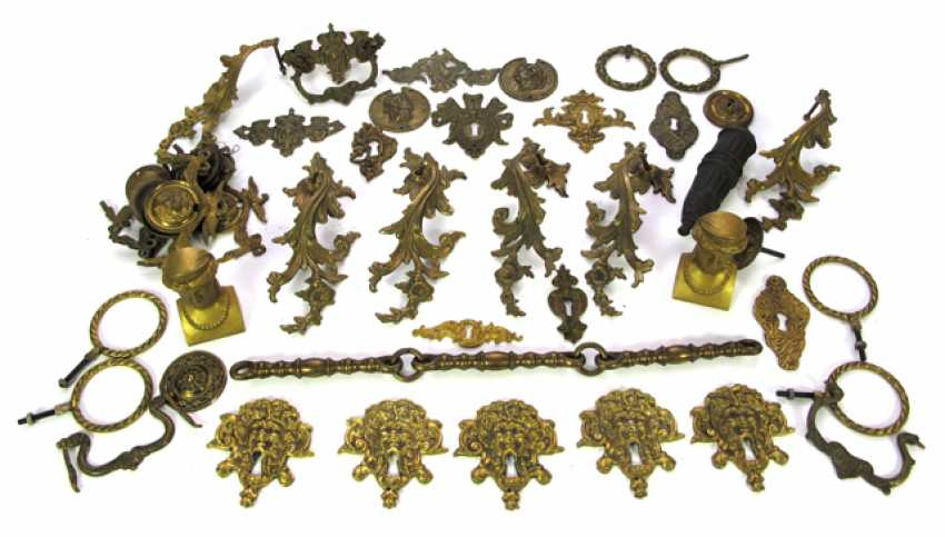 GROUP OF HARDWARE COMPONENTS, - photo 1