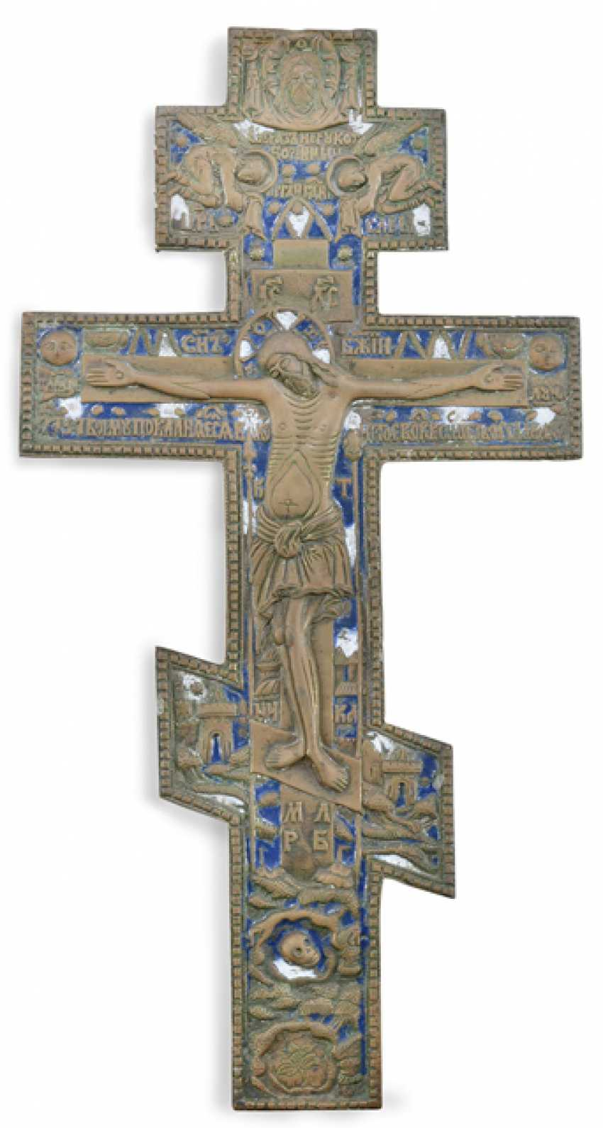 BLESSING CROSS, RUSSIA, 19. CENTURY, - photo 1
