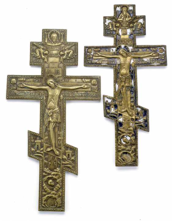 TWO CRUCIFIXES, RUSSIA, AT THE END OF - photo 1
