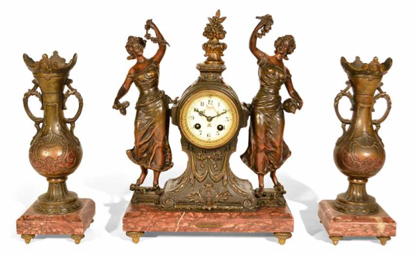 MANTEL CLOCK WITH TWO SIDE - photo 1