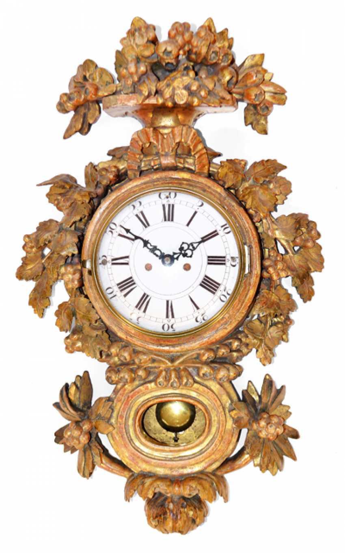 CARTEL CLOCK, 18. CENTURY, - photo 1