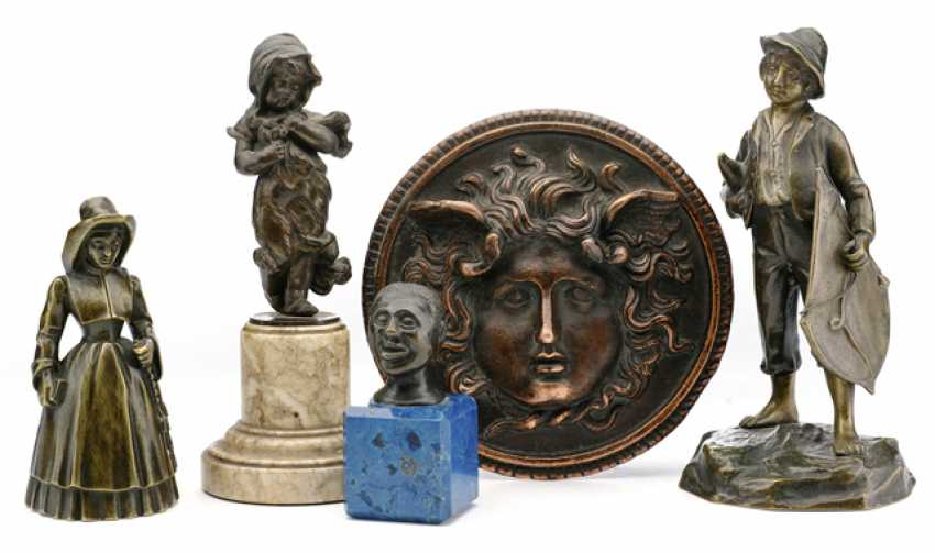 FOUR BRONZES AND COPPER - photo 1