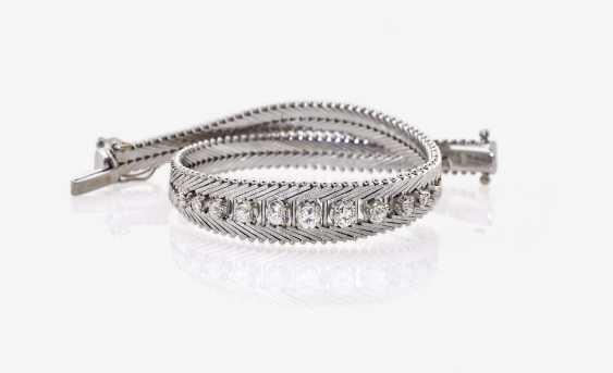 Bracelet with brilliants - photo 1