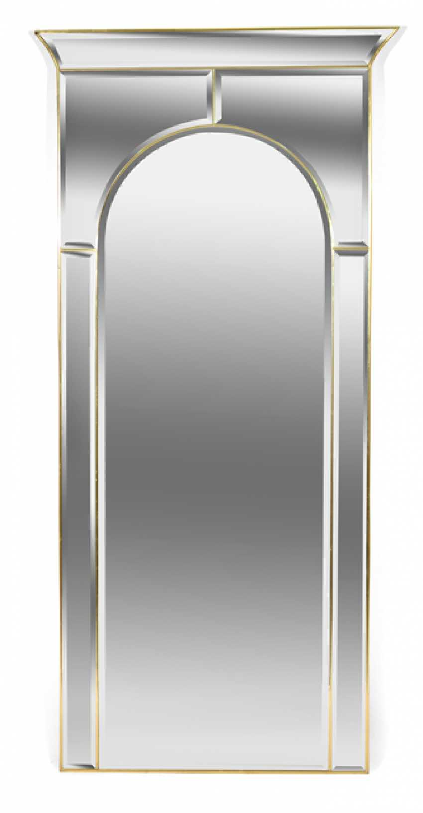 MIRROR, ART DECO STYLE, - photo 1