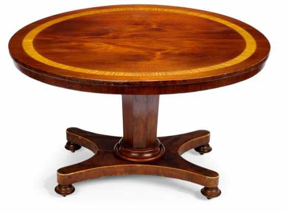 SALON TABLE, BIEDERMEIER STYLE - photo 1