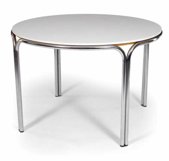 ROUND DINING TABLE, CONKA, - photo 1