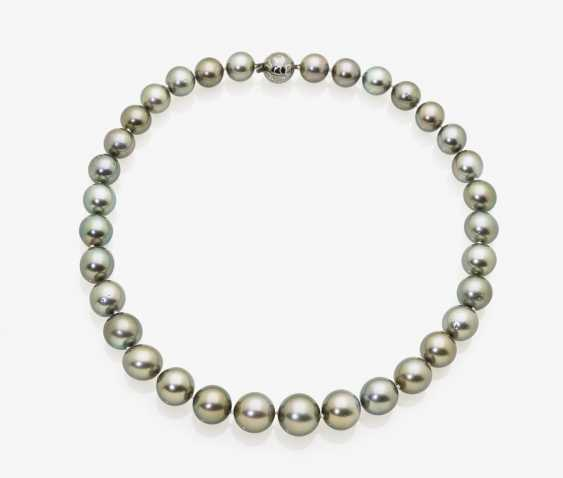 Tahitian Cultured Pearl Necklace - photo 1