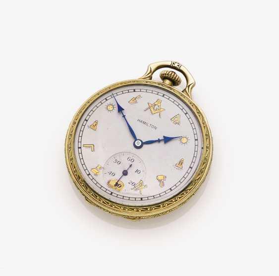 Masonic Pocket Watch - photo 1
