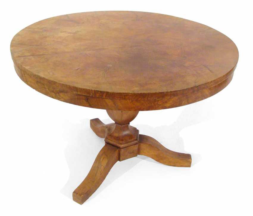 BIEDERMEIER TABLE, - photo 1