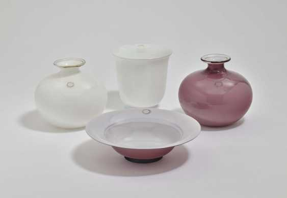 Three vases and a bowl - photo 1