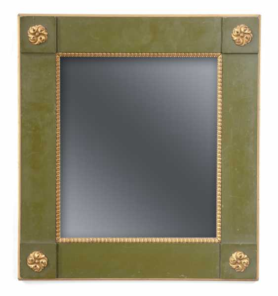 DECORATIVE MIRROR, END OF THE 19TH CENTURY. CENTURY, - photo 1