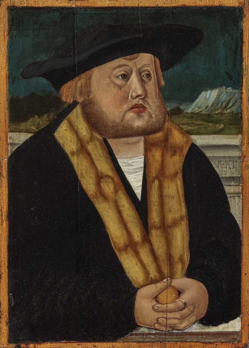 Portrait of a Lord at the age of 38 - photo 1