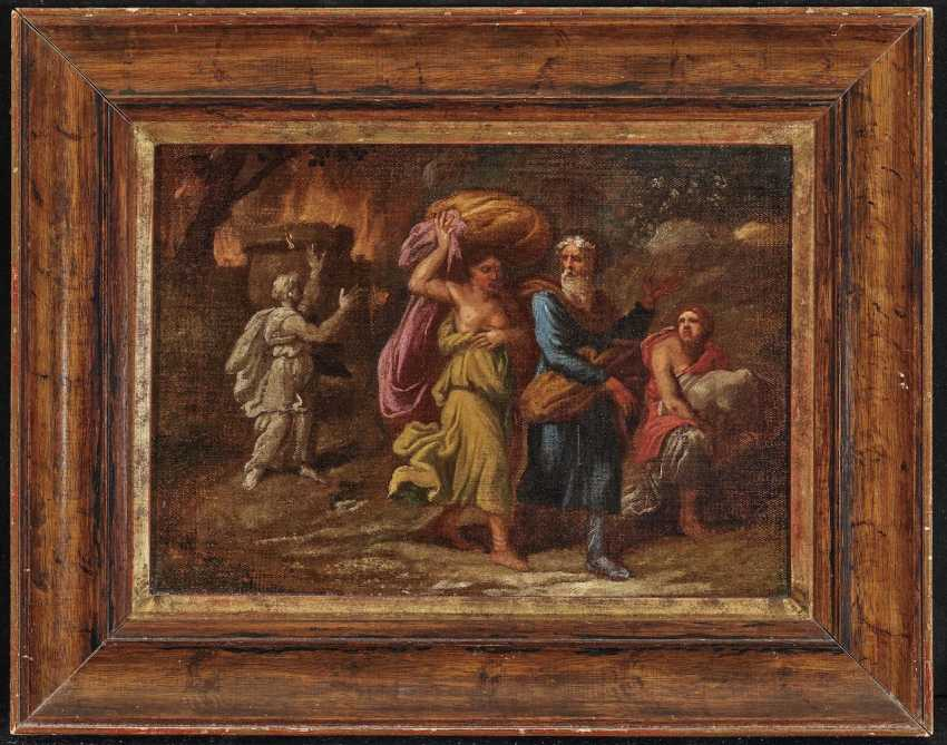 Lot and his daughters flee from the burning of Sodom - photo 2