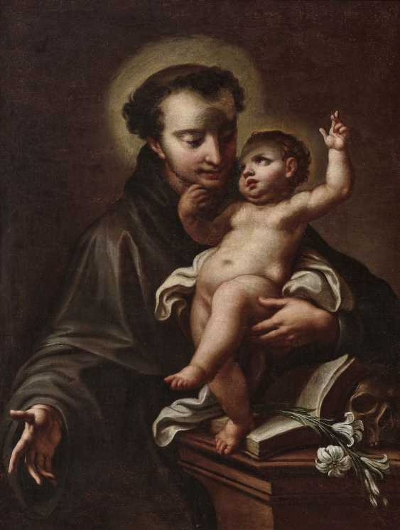 The Hl. Anthony of Padua with the child Jesus - photo 1