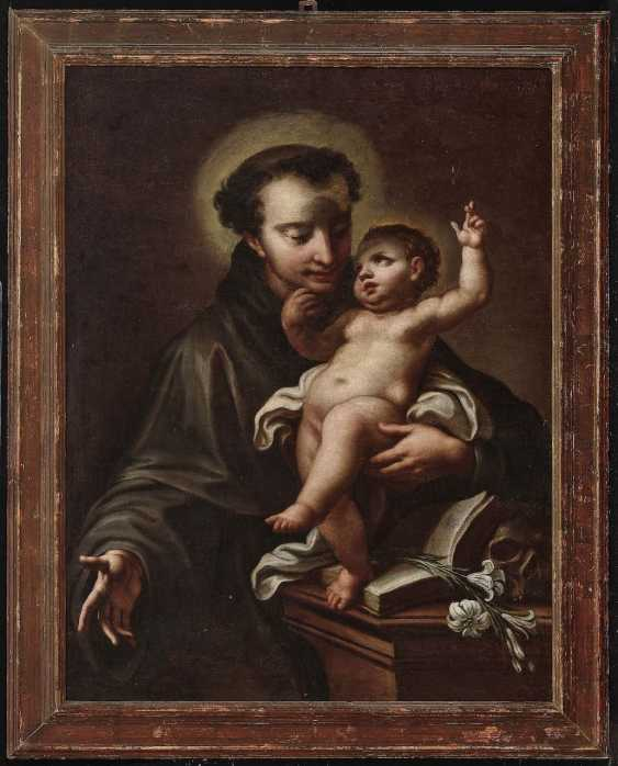 The Hl. Anthony of Padua with the child Jesus - photo 2