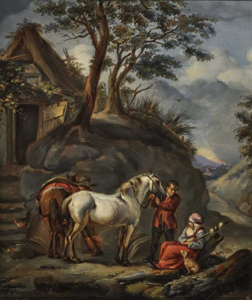 Farmers with horses - photo 1