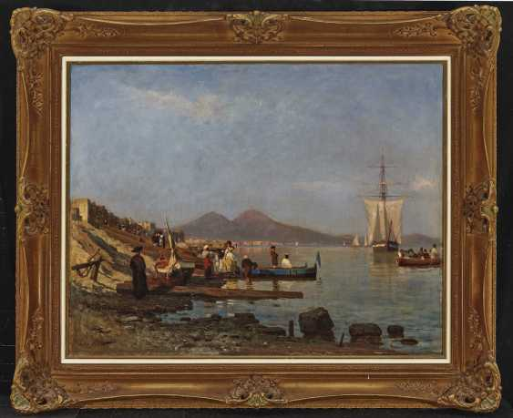 Scene on the shore of the Gulf of Naples - photo 2