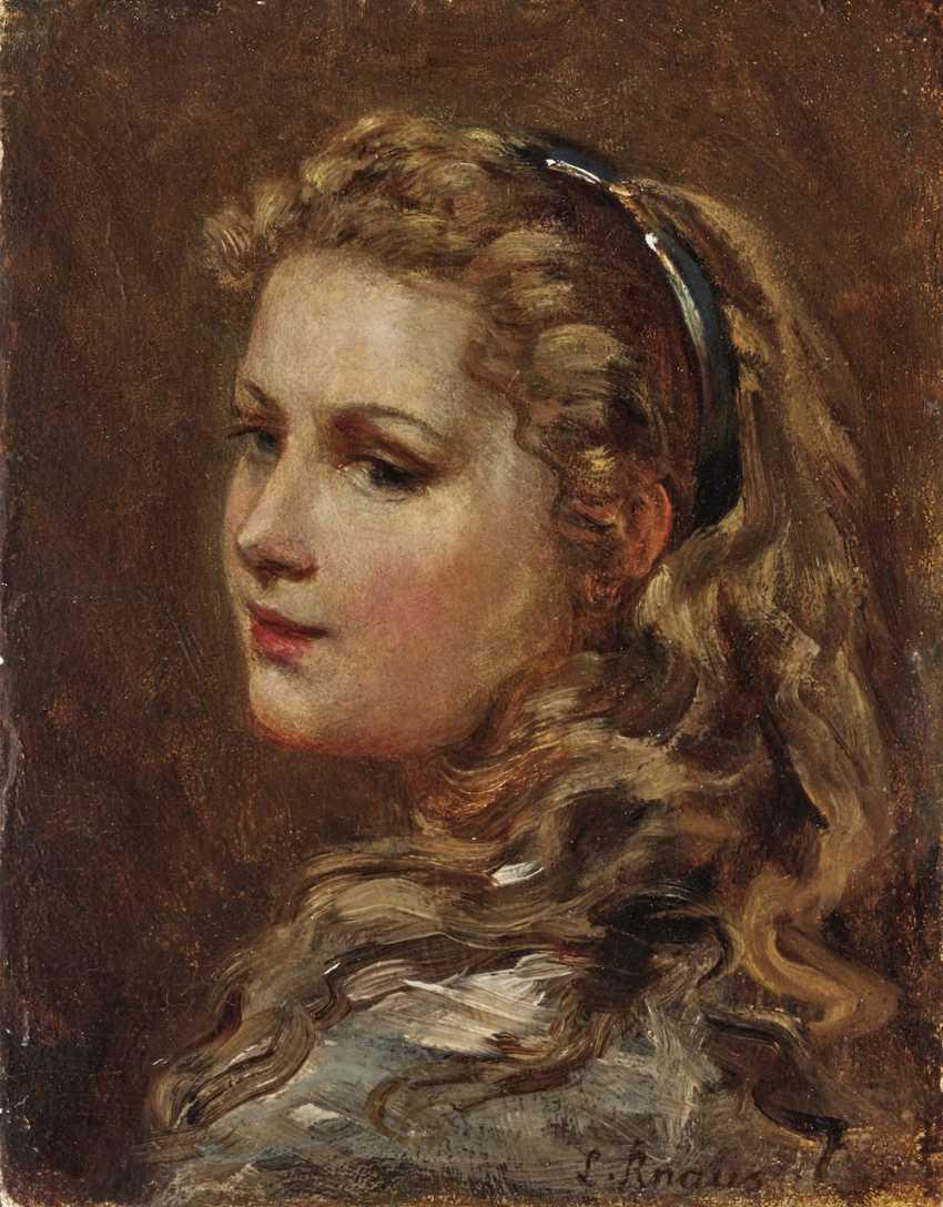 Young girl with headband - photo 1