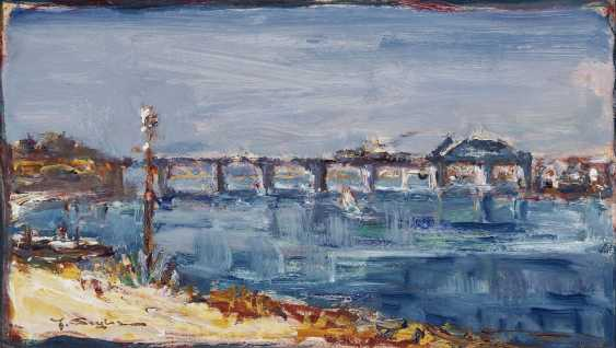 Southern landscape with a bridge - photo 1