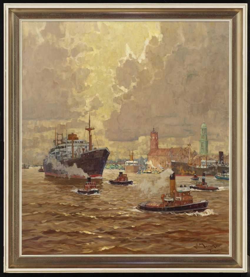 In The Port Of Hamburg - photo 2