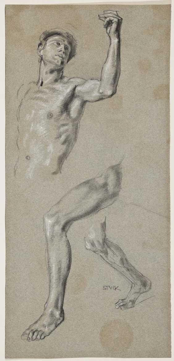 Study of a male body - photo 1