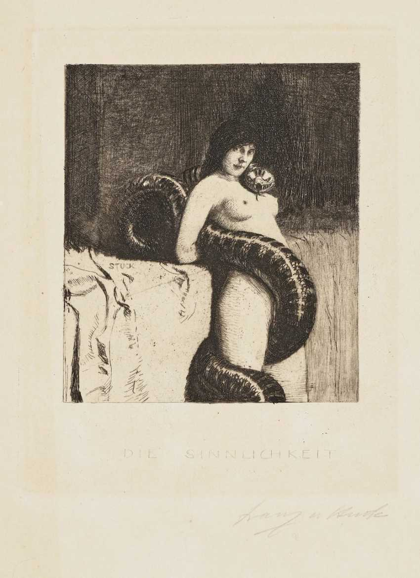 The Sensuality. Lucifer. The trout pond. In order 1889-1891 - photo 3