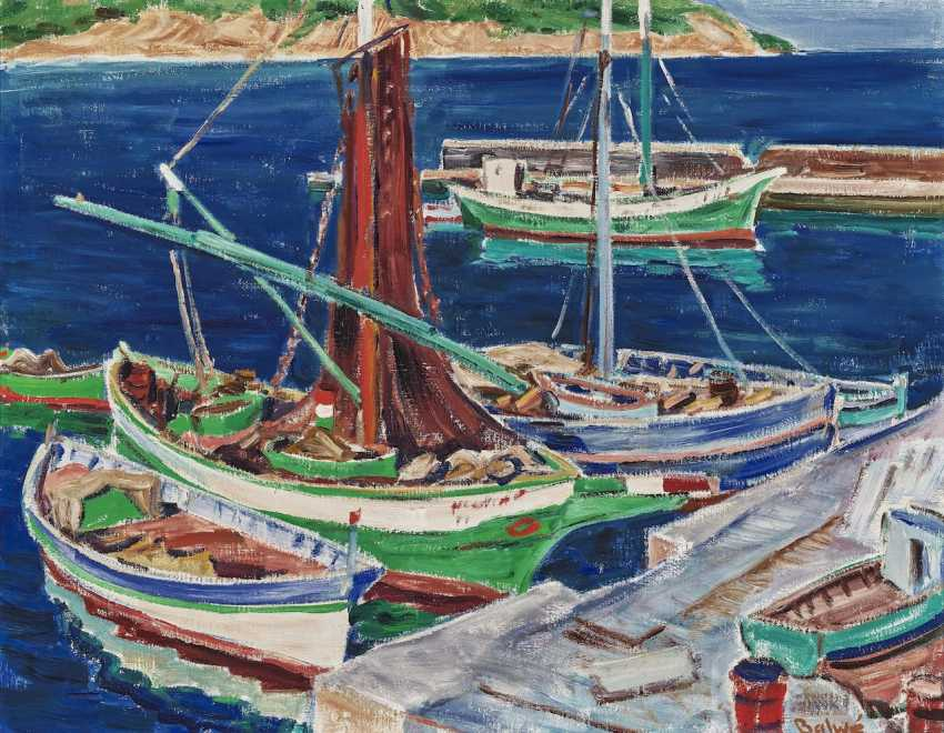 Fishing boats in the port I - photo 1