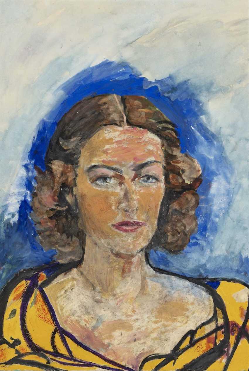 Portrait Of Else Charlotte Kraus Head - photo 1