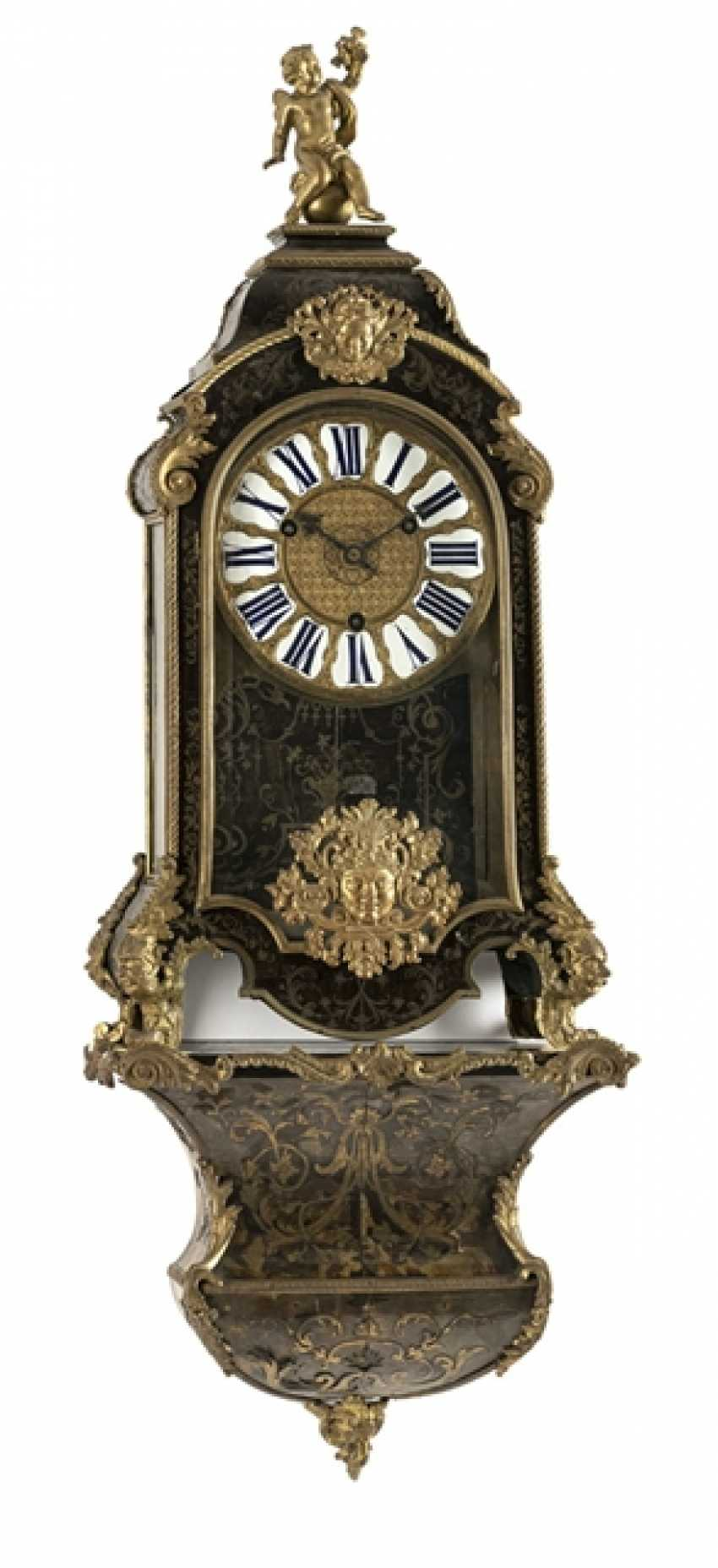 The Boulle clock on wall bracket - photo 1