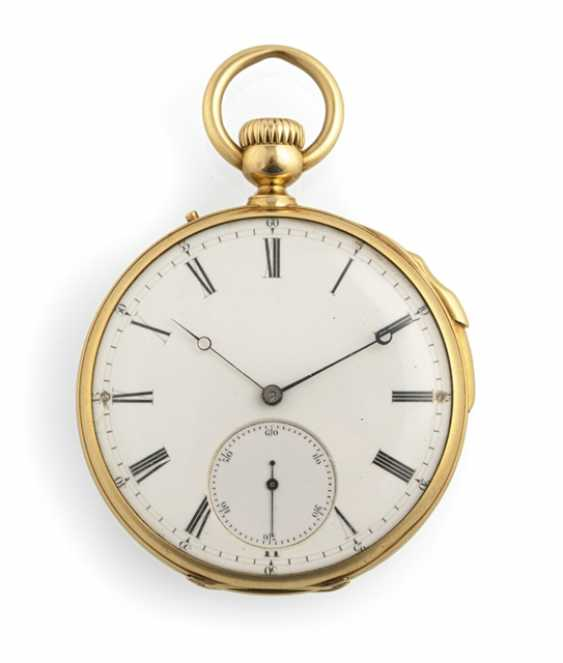 Pocket watch with quarter repeater - photo 1