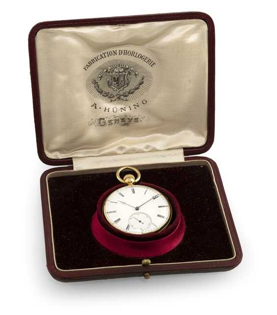 Pocket watch with quarter repeater - photo 2