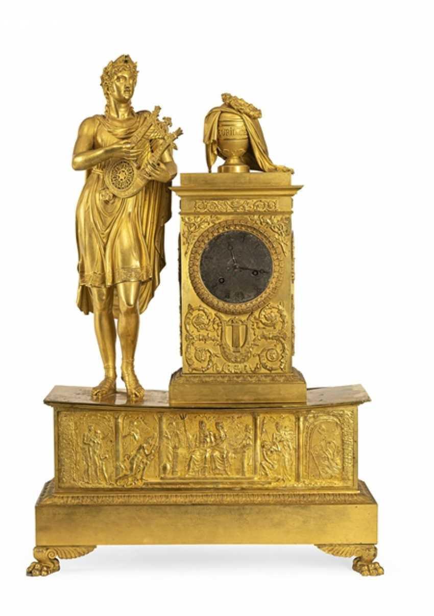 "Monumental pomp pendule ""Orpheus and Eurydice"" - photo 1"