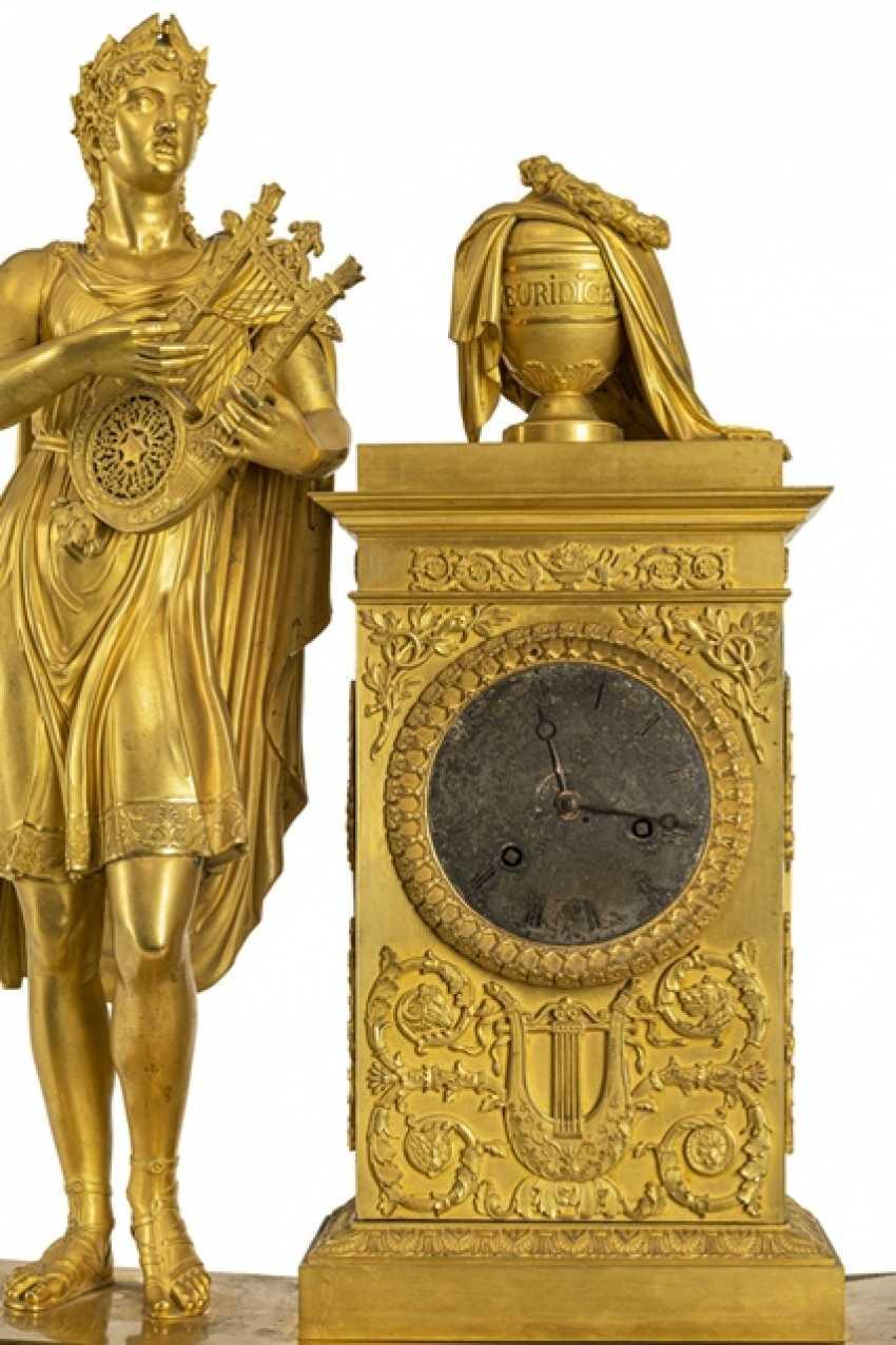 "Monumental pomp pendule ""Orpheus and Eurydice"" - photo 2"