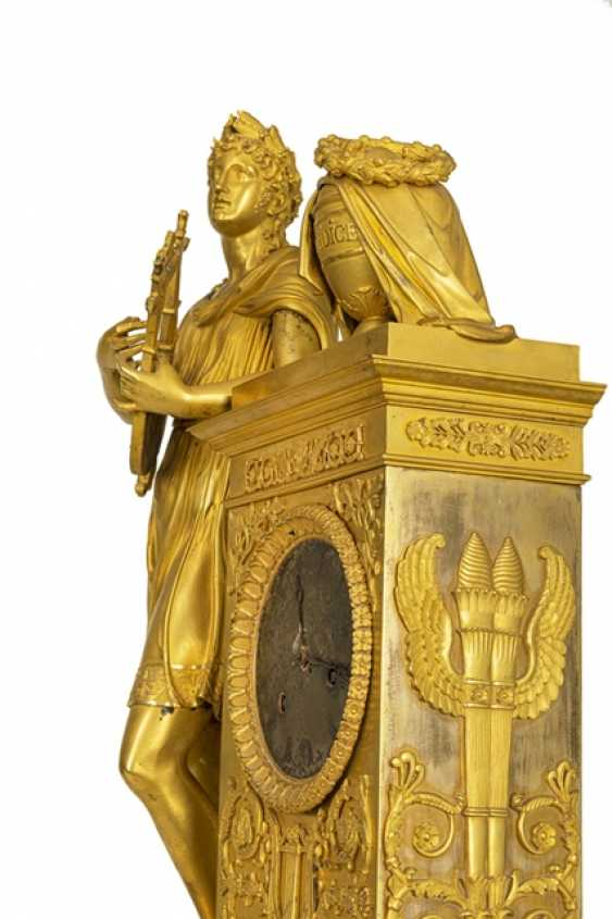 "Monumental pomp pendule ""Orpheus and Eurydice"" - photo 3"