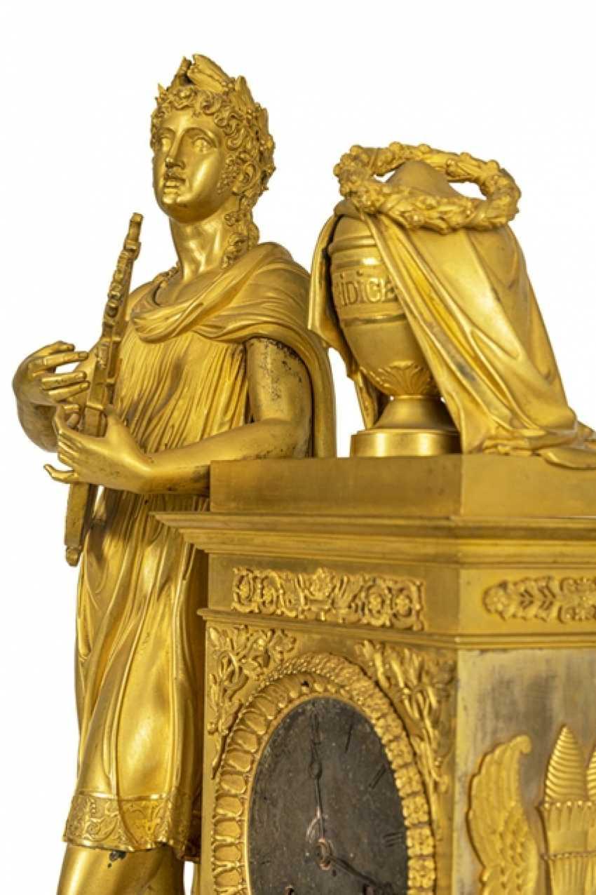 "Monumental pomp pendule ""Orpheus and Eurydice"" - photo 4"