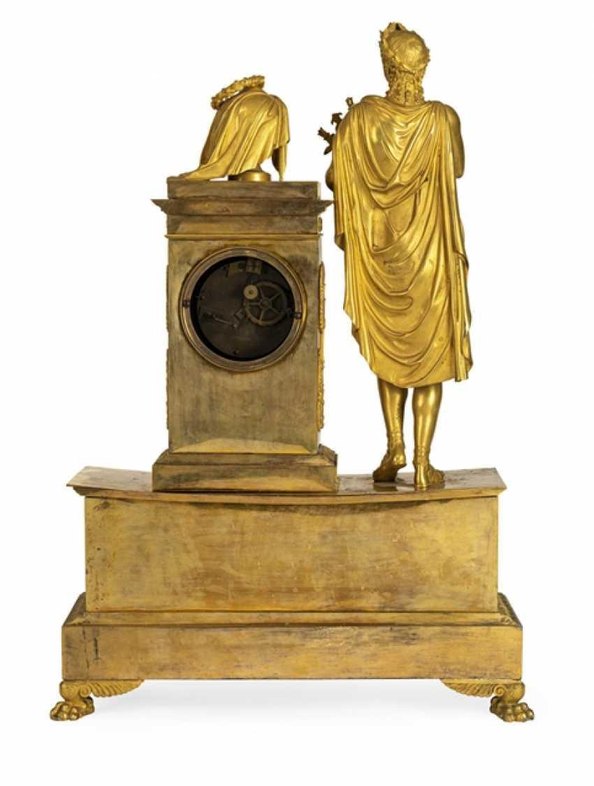 "Monumental pomp pendule ""Orpheus and Eurydice"" - photo 5"