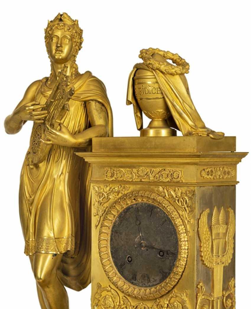 "Monumental pomp pendule ""Orpheus and Eurydice"" - photo 7"