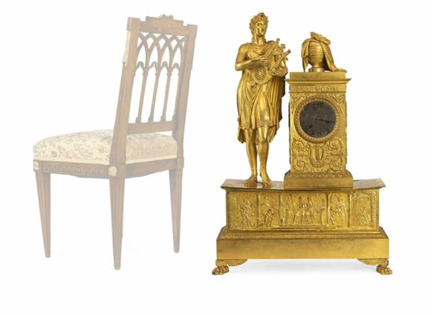 "Monumental pomp pendule ""Orpheus and Eurydice"" - photo 8"