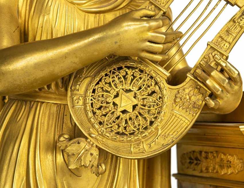 "Monumental pomp pendule ""Orpheus and Eurydice"" - photo 9"