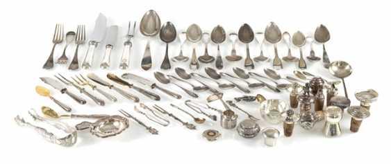 Vintage Pieces Of Cutlery, - photo 1