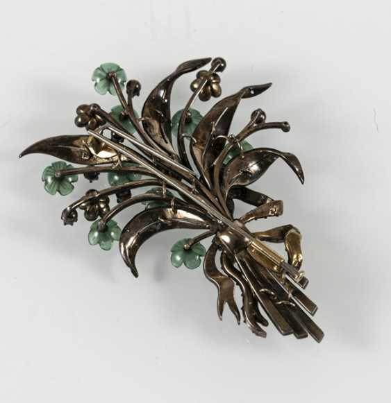 Bouquet Of Flowers Brooch, Si/Gg, - photo 3