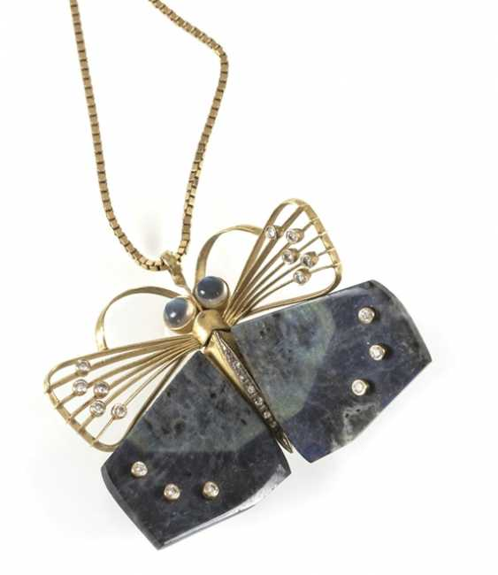 Butterfly On chain, 750Gg, - photo 1